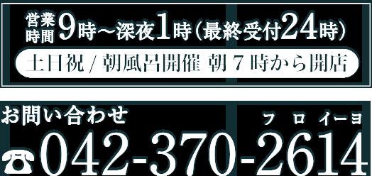 営業時間・電話番号