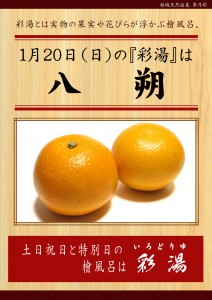 20190120POP イベント 彩湯 八朔