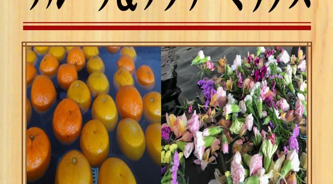 20201126 POP イベント 彩湯 フルーツ&フラワーミックス